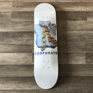 "Corporate Skateboards ""Work Ties Watercolor"""