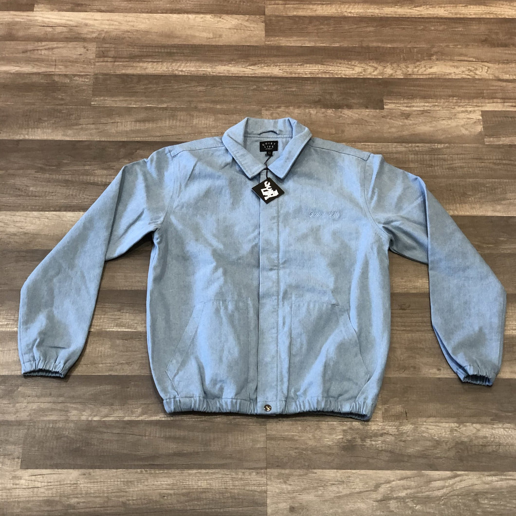 THE QUIET LIFE KENNEY GARAGE JACKET (LIGHT DENIM)