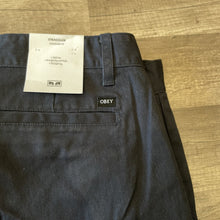 Load image into Gallery viewer, Obey Straggler Pant French Navy