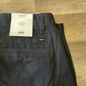 Obey Straggler Pant French Navy