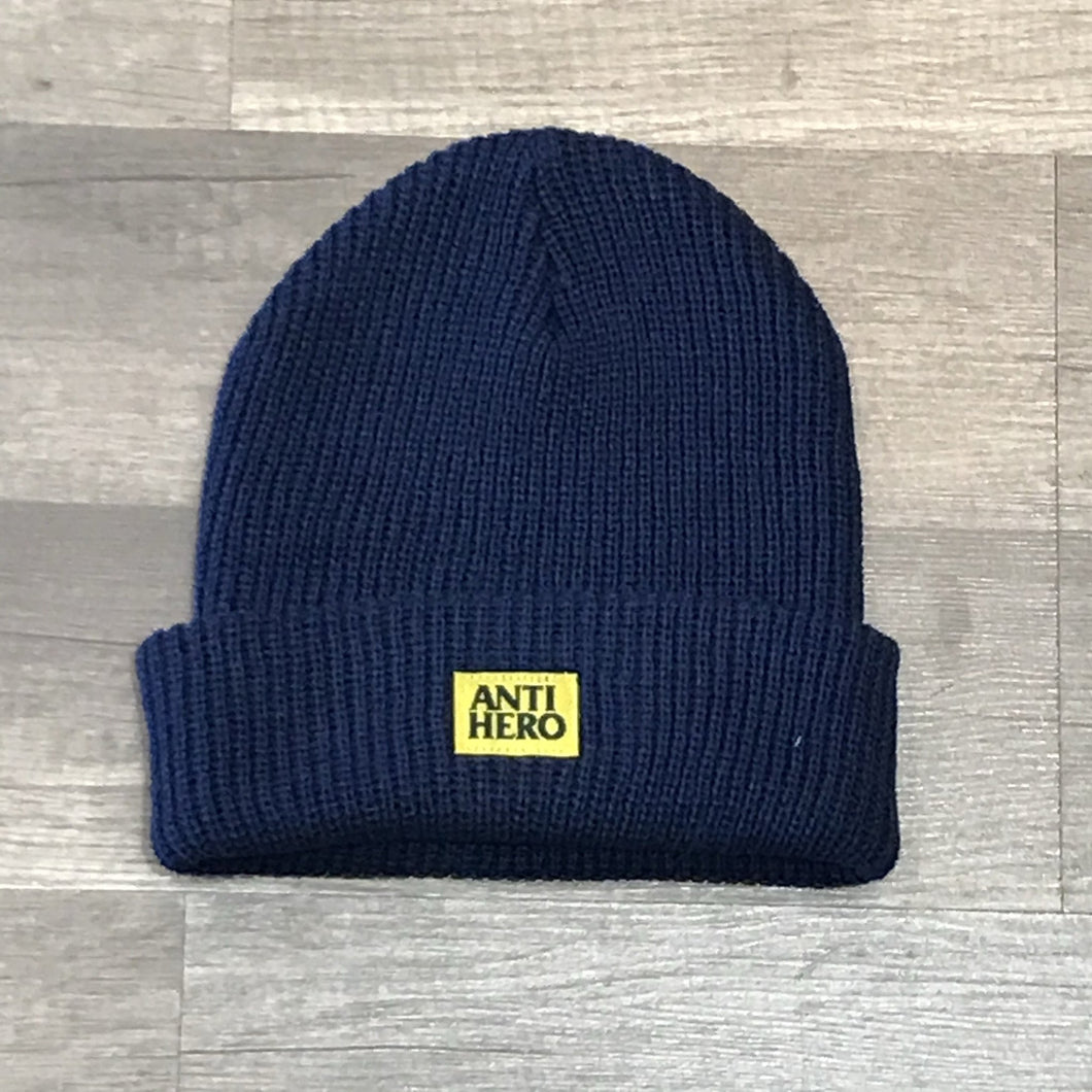 ANTI-HERO BEANIE LIL BLACK HERO NAVY