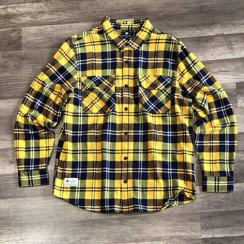 Lrg Index Flannel Yellow