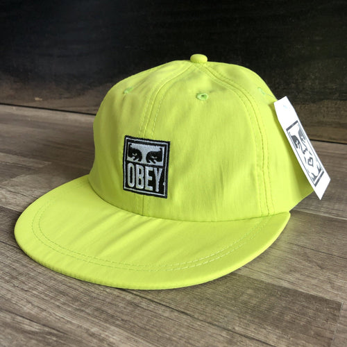 Obey Icon Eyes 6 Panel Hat