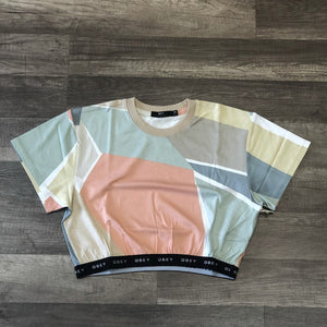 Obey Glen Aspen Top Peach