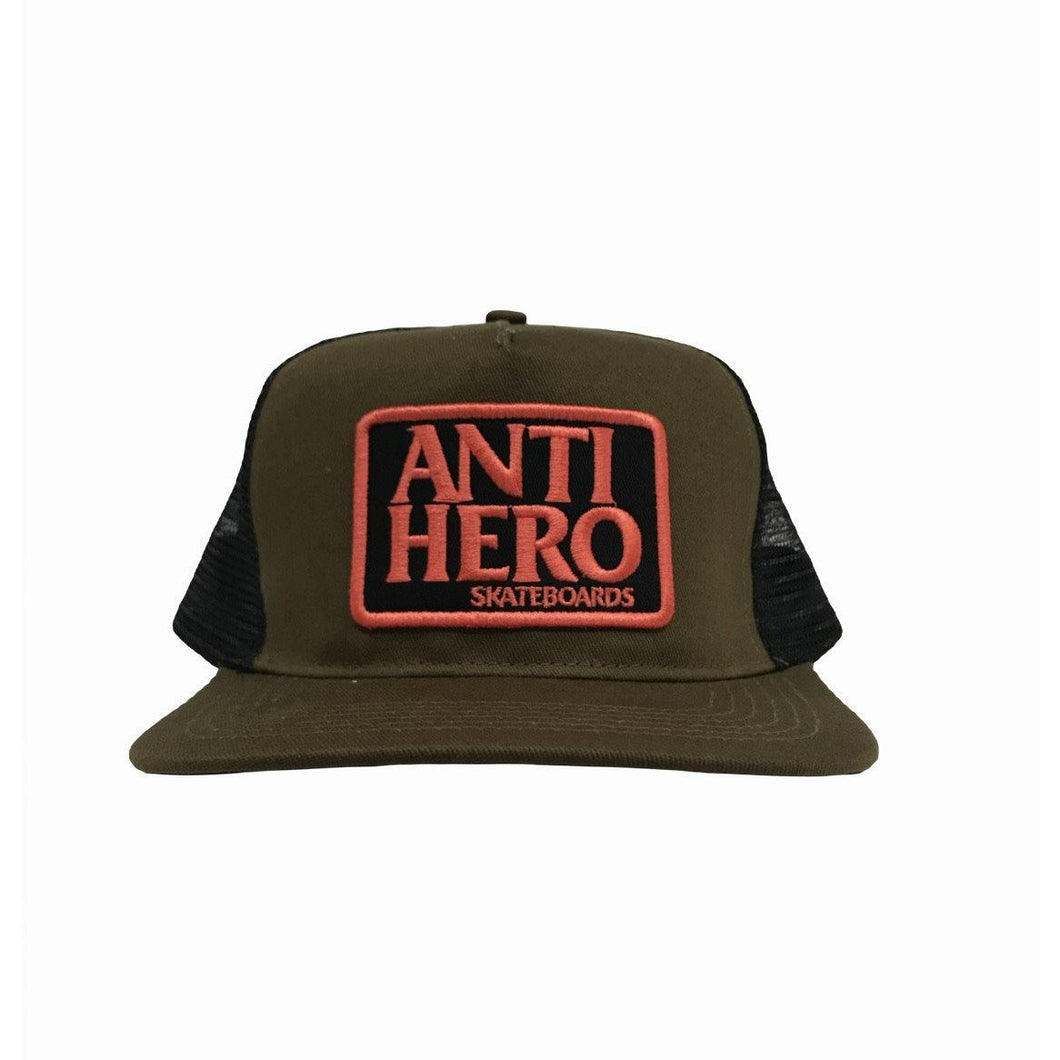ANTI-HERO RESERVE PATCH TRUCKER HAT