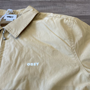 Obey Aphex Jacket Almond