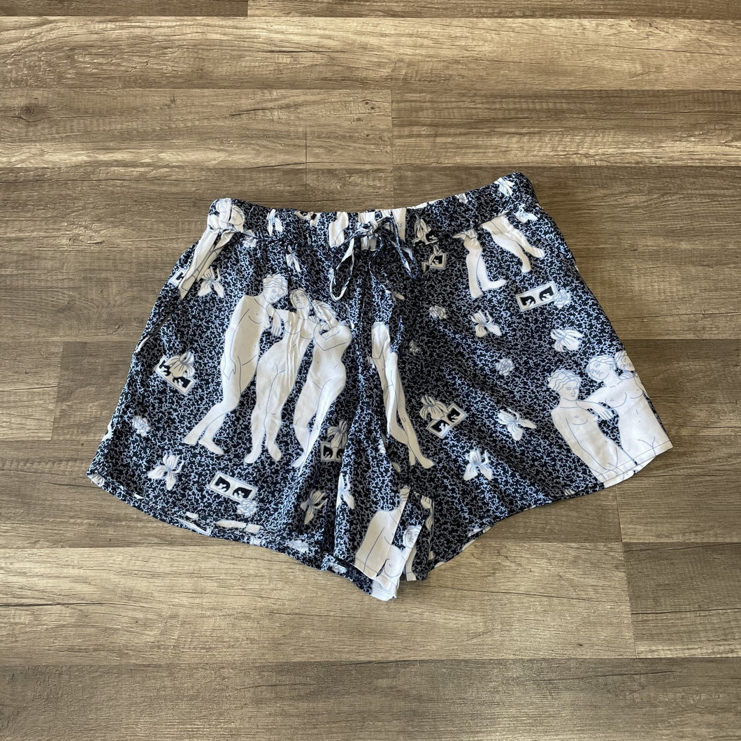 Obey Free Birds Short Sapphire