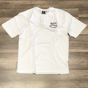 Sex Reflective Tee White