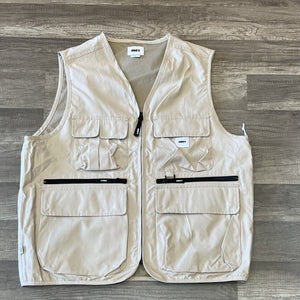 Obey Warfield Vest Humus