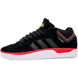 Adidas Tyshawn Black/Scarlet/Gold