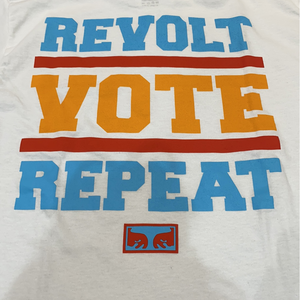 Obey Women Revolt Vote Repeat Tee