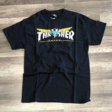 Load image into Gallery viewer, Thrasher Venture Collab Black Tee