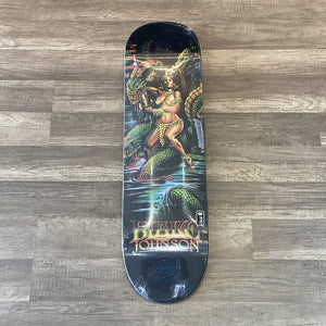 Santa Cruz Johnson Warrior Powerply Deck