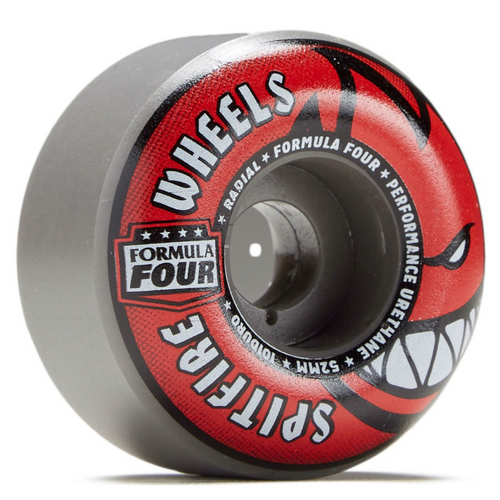 Spitfire F4 Radials Grey/Red Wheels