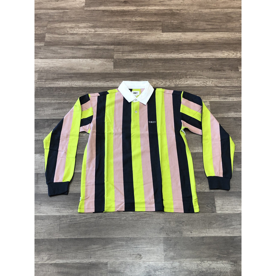 Obey Side Line Polo L/S