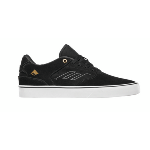 Emerica Low Vulc Blk/Wht/Gold