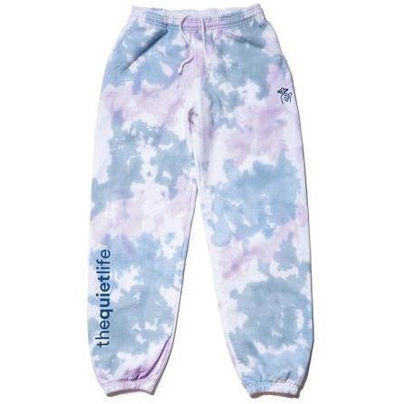 THE QUIET LIFE SHHH TIE DYED FLEECE PANTS