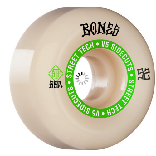 Bones STF V5 Sidecuts Wheels