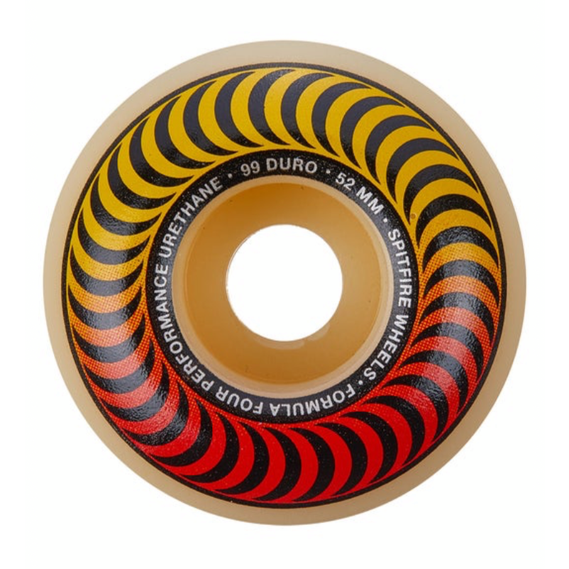 Spitfire Formula Four Red/Yel Fader Wheels