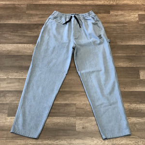 THE QUIET LIFE DENIM CARPENTER BEACH PANT (LIGHT DENIM)