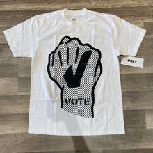 Load image into Gallery viewer, Obey Mens Vote Fist Tee