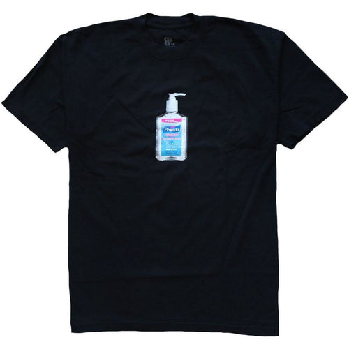 Sanitize Tee Black