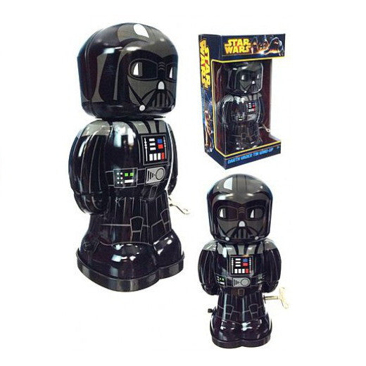 Star Wars Tin Wind Up Toy Darth Vader