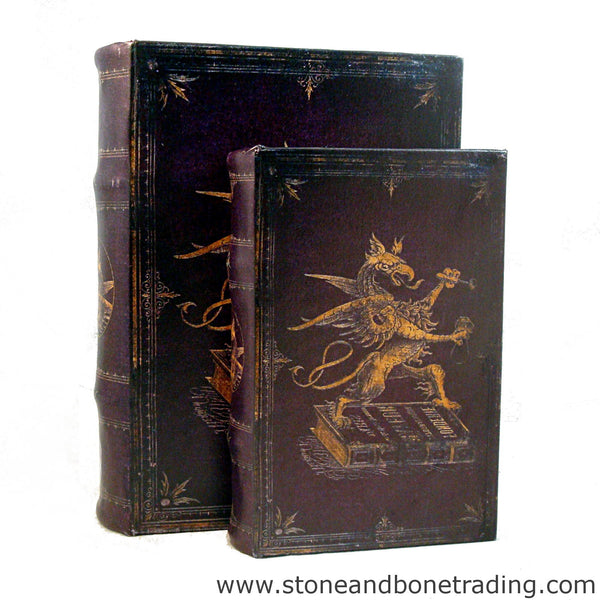 Golden Griffin heraldry book box set
