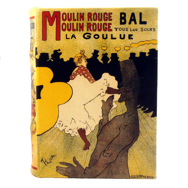 Moulin Rouge la Goulue by Henri de Toulouse-Lautrec Book Box