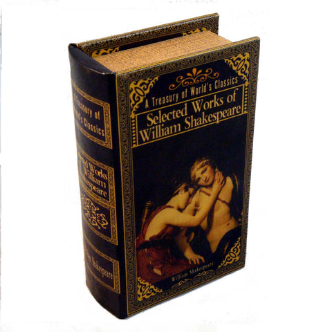 shakespeare, book box, william shakespeare, collected works, book