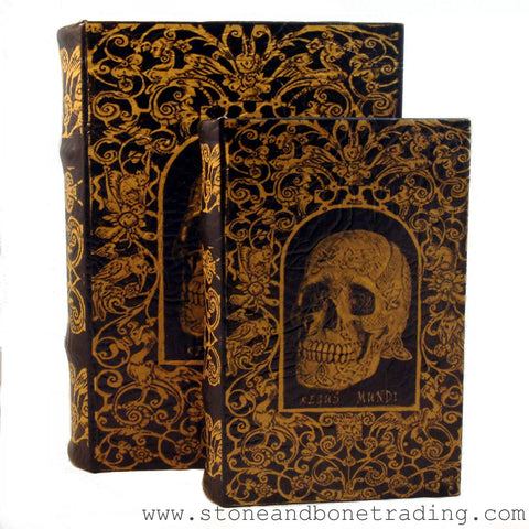 """Regus Mundi"" Skull of the Celtic King of Spirits Book Box"