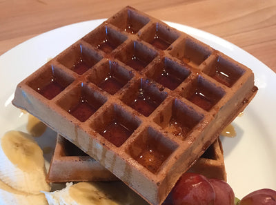 BUILD: High Protein Breakfast Waffles