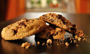 Protein-packed peanut butter chocolate chip cookies