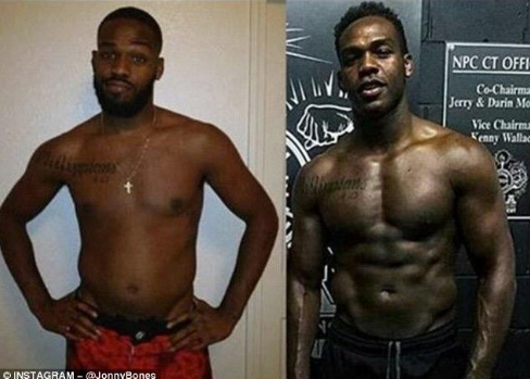 Jon Jones Powerlifting