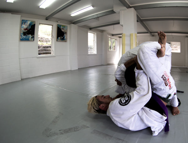 Brazilian Jiu Jitsu Triangle at the Boars Nest