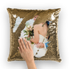 Customizable Sequin Wedding Pillow Cover (HOT!!!)