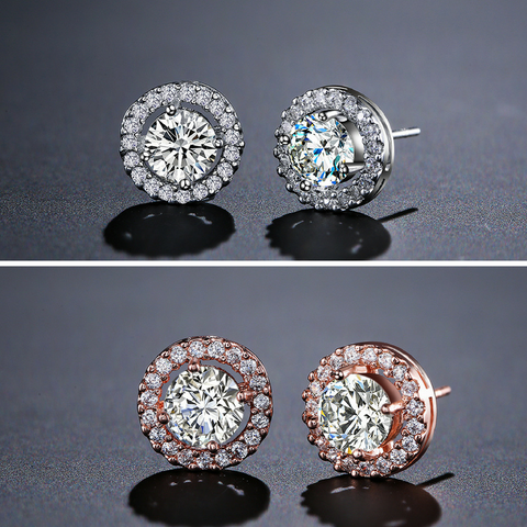 CAMILA - AAA Cubic Zirconia Stud Earrings