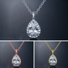 JESS - AAA Cubic Zirconia CZ Bridal Pendant Necklace