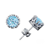 Brilliant AAA CZ Stud Earrings