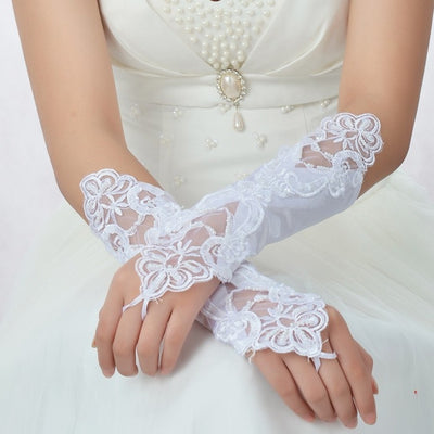 Beautiful Vintage Lace Bridal Glove