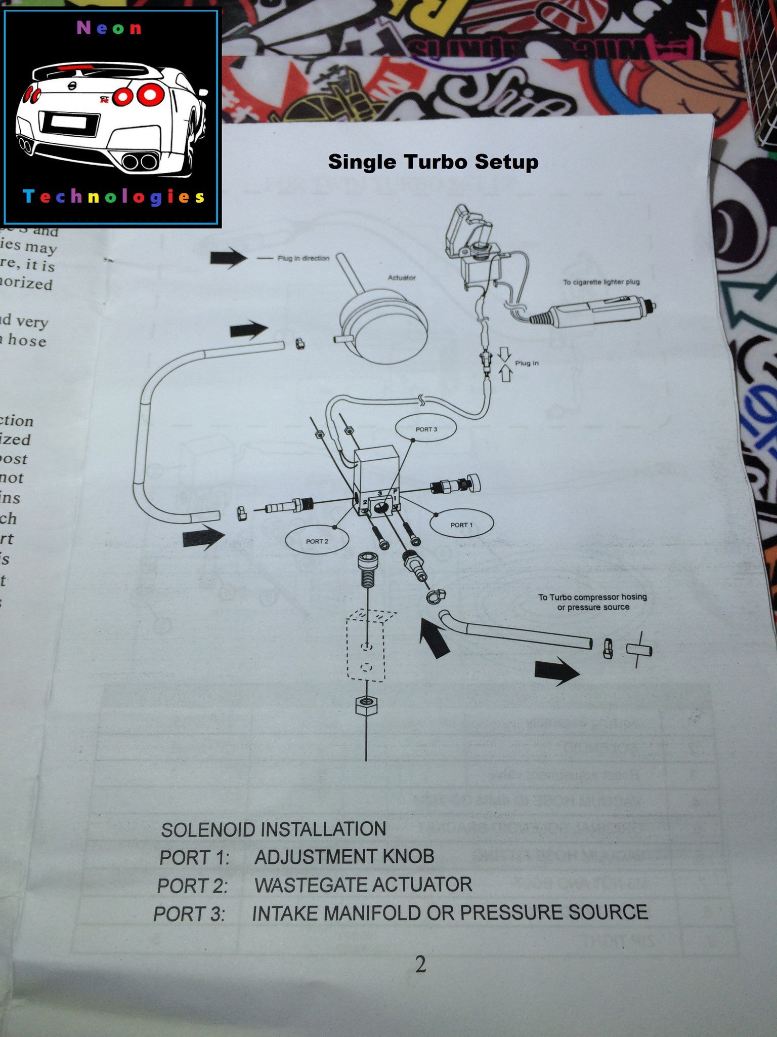 Dual Stage Boost Controller Fuel Pump Wiring Harness For