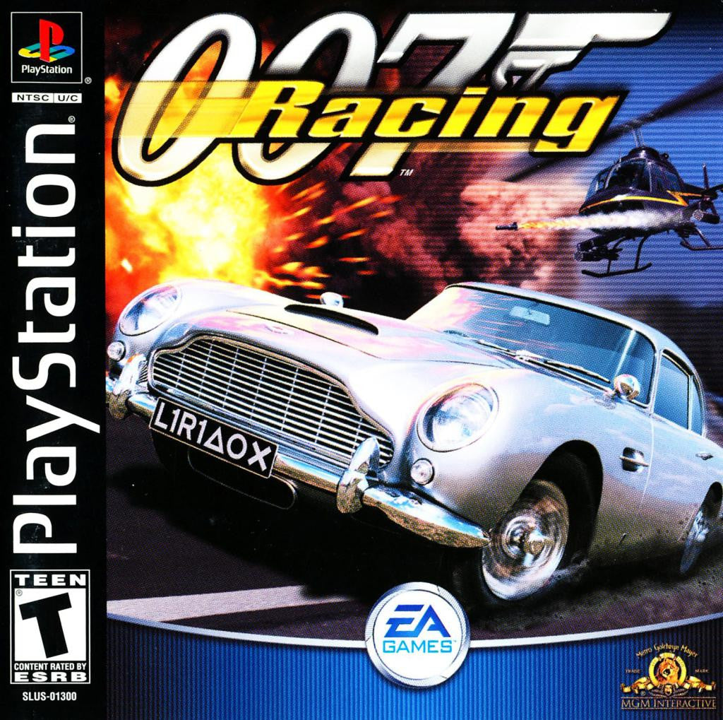 007 Racing - PlayStation 1 Game - Complete