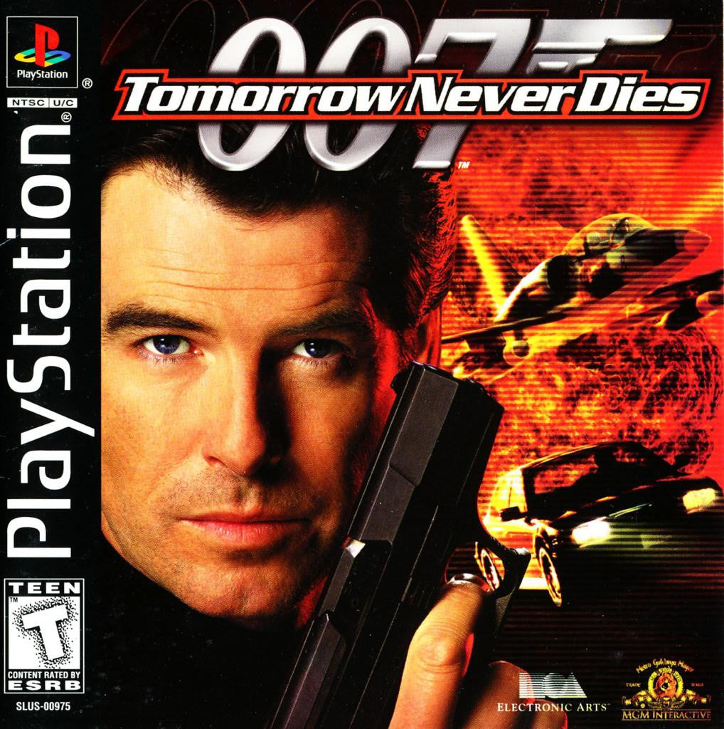 007: Tomorrow Never Dies - PlayStation 1 Game - Complete