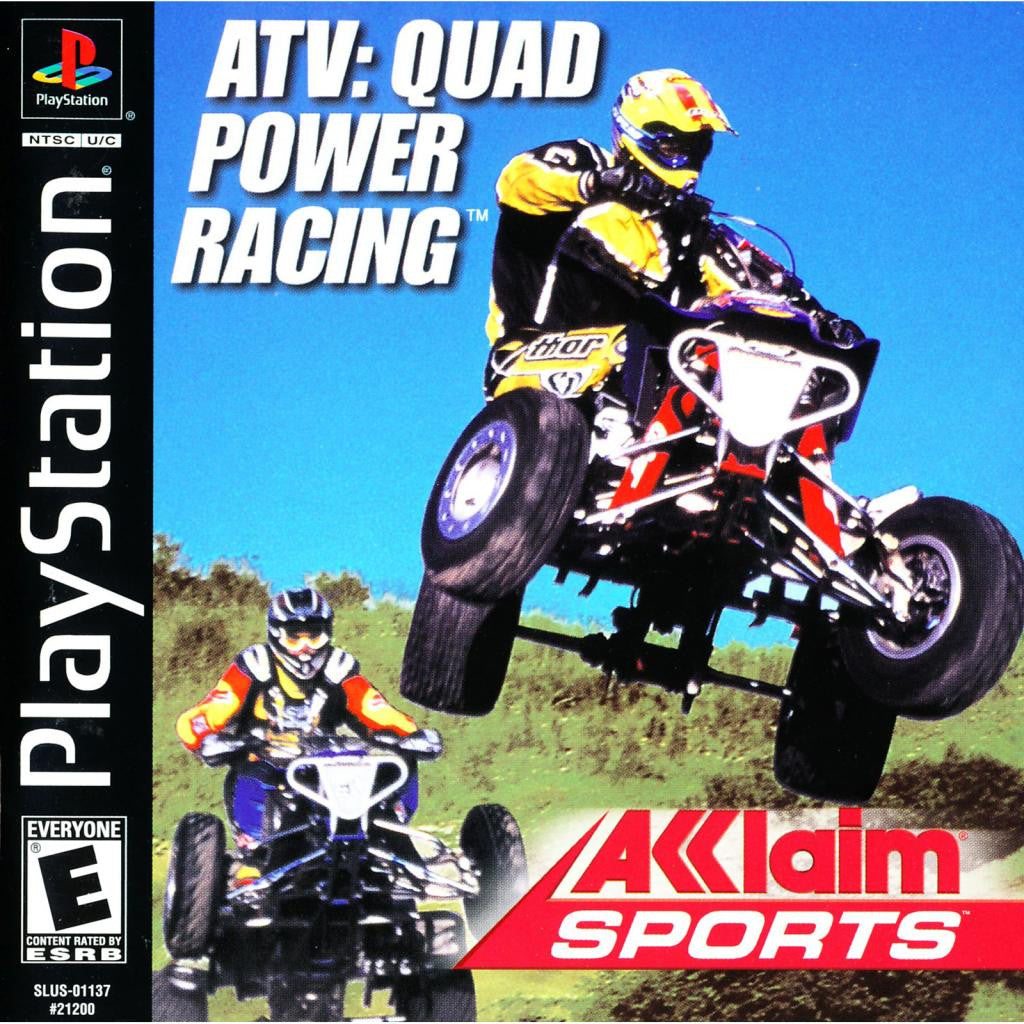 ATV: Quad Power Racing - PlayStation 1 Game - Complete
