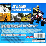 ATV Quad Power Racing for PlayStation 1 back
