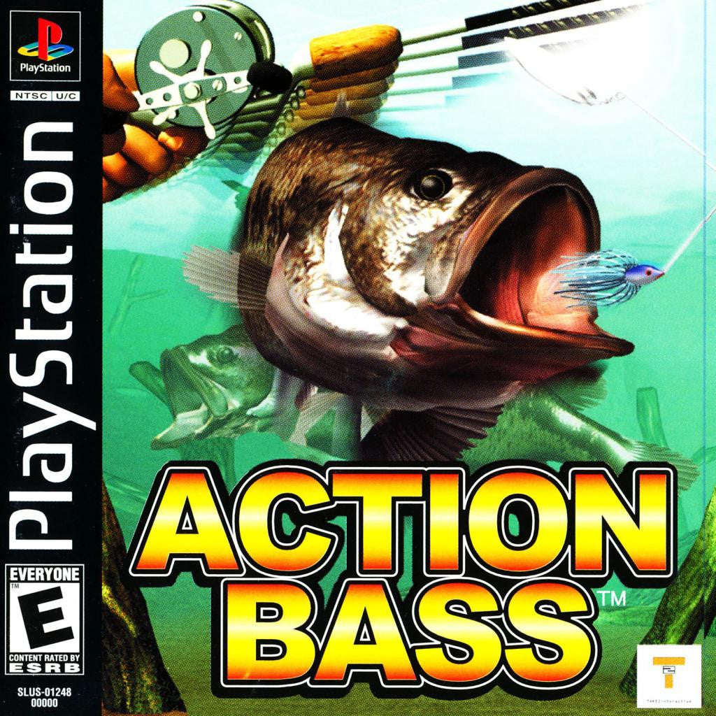 Action Bass - PlayStation 1 Game - Complete
