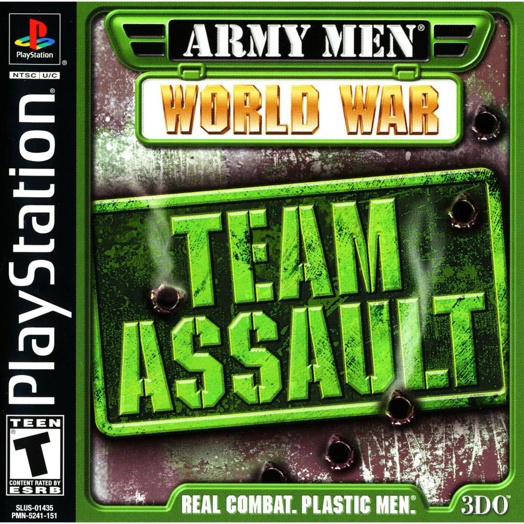 Army Men: World War - Team Assault - PlayStation 1 Game - Complete