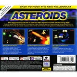 Asteroids for PlayStation 1 back