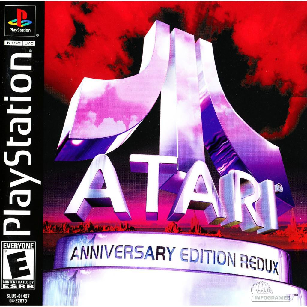 Atari Anniversary Edition Redux for PlayStation 1