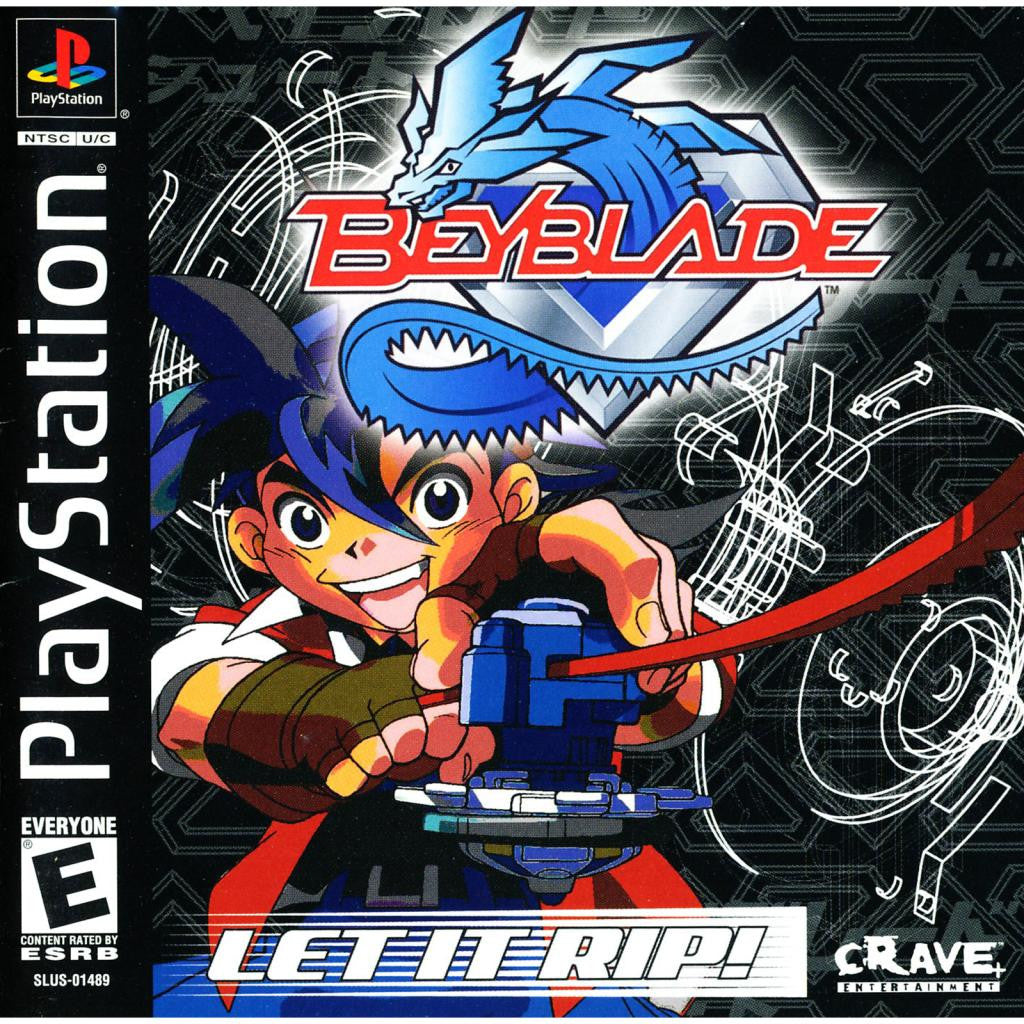 Beyblade: Let it Rip! - PlayStation 1 Game - Complete